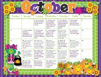 Oct_Homework_Calendar